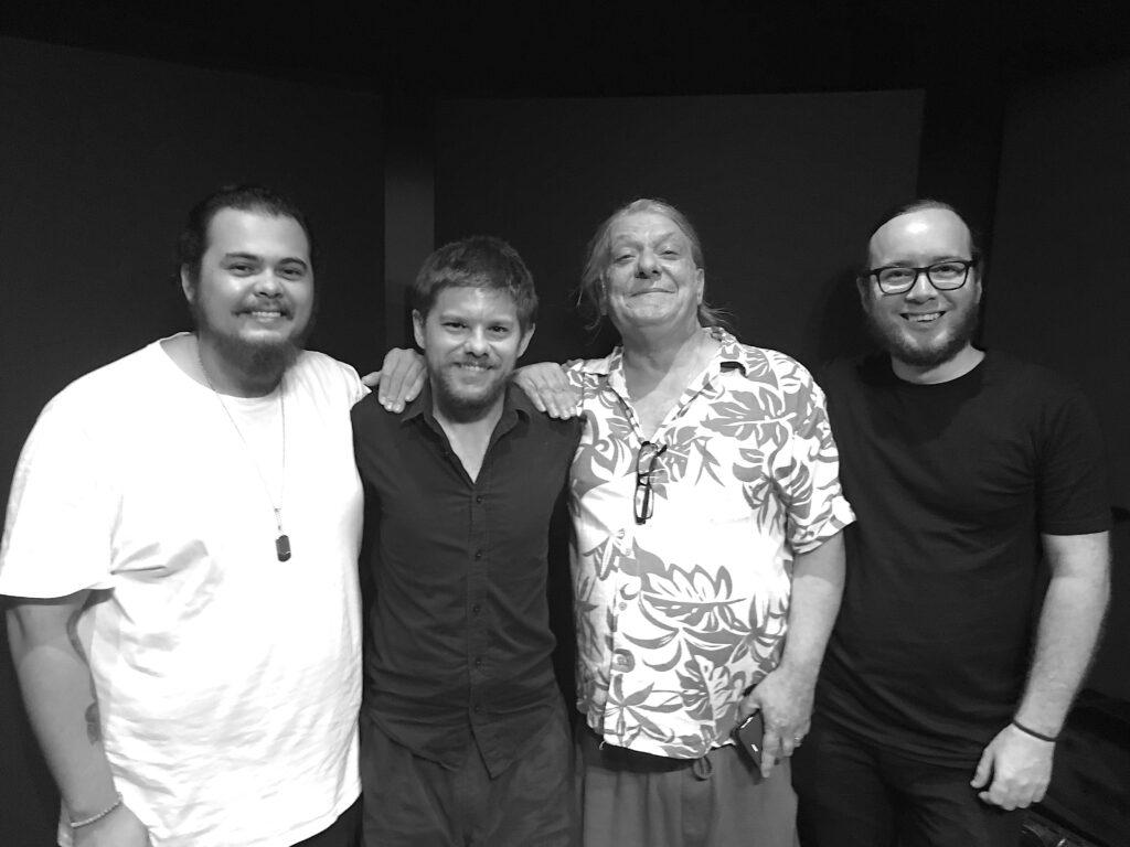 Tristan Rogers, Brodie Mcallister & Julian Palma